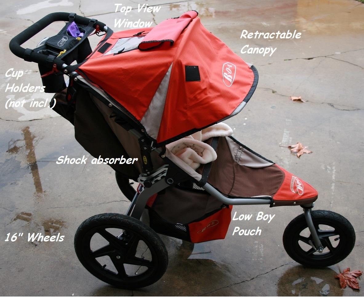 The SUV of strollers. BOB Revolution SE & BOB Revolution SE (2010 Model) | Me vs. Gavin
