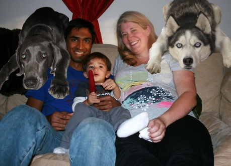 Family Portrait - Good Enough to Hang Over the Mantle...
